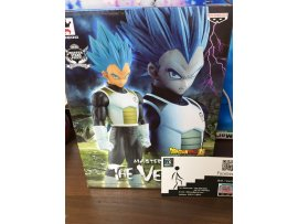 JP Ver BANPRESTO 龍珠 DRAGON BALL SUPER MASTER STARS PIECE MSP THE SS GOD SS VEGETA 藍髮 神 比達