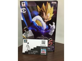 JP Ver BANPRESTO DRAGONBALL - SCULTURES BIG 天下一武道會 CHAMPIONSHIP 5 VOL.5 SS.VEGETA 比達