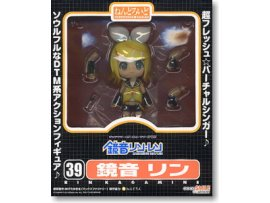 Good Smile Nendoroid 039 Character Vocal Series 02 Kagamine Rin 鏡音鈴