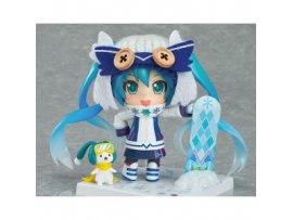 Good Smile Nendoroid 570 Vocaloid Snow Miku 雪初音 Snow Owl Ver