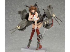 Max Factory 艦娘 Kantai Collection Kan Colle  Mutsu 陸奥 中破ver.  Figma figFIX006
