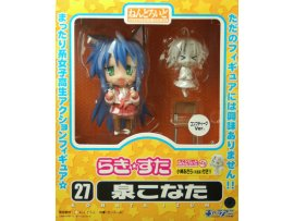 Good Smile Nendoroid 027 Lucky Star 幸運星 Konata Izumi 泉此方 Comptique Ver.