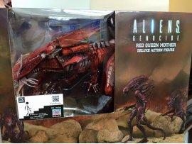 NECA Alien - 7 Inch Action Figure Series Ultra Deluxe: Genocide Red Alien Queen 紅 異形