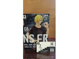 BANDAI Banpresto One Piece 海賊王 JEANS Freak Spirit vol.08 SANJI 山治 牛仔褲 figure 模型