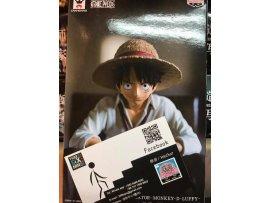日版 Banpresto One Piece 海賊王 Creator X Creator 造型師 X 寫真家  LUFFY 路飛