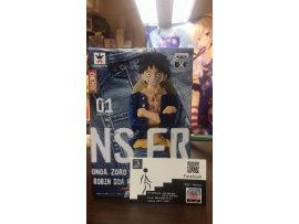 BANPRESTO JP]  One Piece 海賊王 景品 Banpresto Jeans Freak Vol 1 Monkey D Luffy 草帽小子 路飛 A款 藍衫 牛仔褲