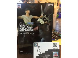 現貨 Banpresto One Piece Dramatic Showcase 7th vol.1 海賊王 卓洛 索隆 ZORO 鷹眼對決 figure