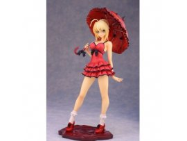 Alphamax Fate/EXTRA CCC Saber One-piece Dress ver 1/7 PVC Figure