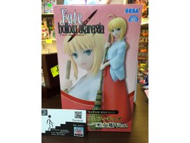 JP  SEGA FATE HOLLOW ATARAXIA SABER 巫女裝 打掃版 景品
