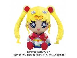 """預訂 1月 日版 Bandai 劇場版 美少女戦士セーラームーン Eternal Chibiぬいぐるみ スーパーセーラームーン Pretty Guardian Sailor Moon Eternal"""" Chibi Plush Super Sailor Chibi Moon"""