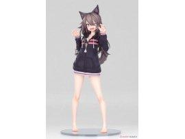預訂 1月 日版 B'Full Original Character Statue 1/7 Hoodie Wolf Girl Illustration by Syugao