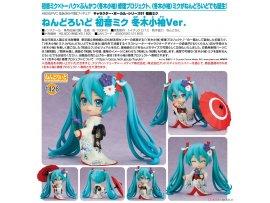 預訂 1月 日版 Good Smile Nendoroid 1427 Character Vocal Series 01 Hatsune Miku Korin Kimono 初音未來 冬木小袖 Ver Pre-order