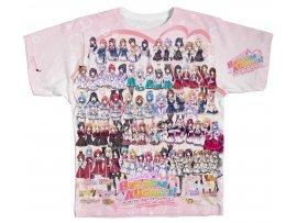預訂 1月 日版 Ensemble Heroine All Stars Full Graphic T-shirt (L Size)