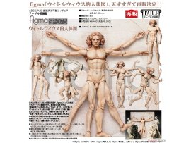 預訂 1月 日版 Freeing figma SP-075 The Table Museum 美術館 Vitruvian Man 維特魯威人 Pre-order