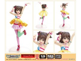 WAVE DreamTech  THE IDOLM@STER Cinderella Girls 偶像大師 灰故娘 Decoration Miria Akagi 赤城米莉亞 1/8  Figure