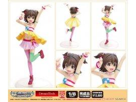 WAVE DreamTech  THE IDOLM@STER Cinderella Girls 偶像大師 灰故娘 Decoration Miria Akagi 赤城米莉亞 1/8  Figure