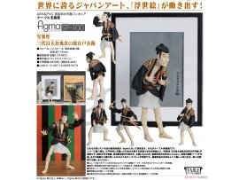 日版 Freeing figma SP-100 The Table Museum 美術館 Otani Oniji III as Yakko Edobei by Sharaku 三代目大谷鬼次の奴江戸兵衛