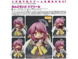 日版 Good Smile Nendoroid 794 No Game No Life 遊戲人生 Jibril 吉普莉爾