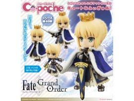 日版 Kotobukiya 壽屋 Cu-poche Fate/Grand Order Saber/Altria 亞瑟王 Pendragon Posable Figure