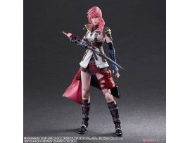 日版 Square Enix Play Arts Kai DISSIDIA FINAL FANTASY 最終幻想 Lightning 雷電