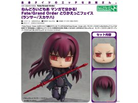 Good Smile Nendoroid More Learning with Manga! Fate/Grand Order Face Swap 師匠 Lancer/Scathach 斯卡哈