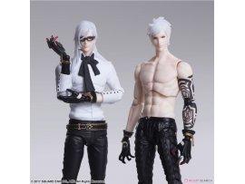 Square Enix  尼爾:自動人形 Bring Arts 亞當& 夏娃 PVC Figure