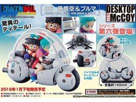 日版 MegaHouse DESKTOP REAL McCOY 06 - Dragon Ball 龍珠 : 悟空 Son Goku & Bulma 布瑪 PVC