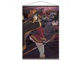 10月 日版 Azumaker Kono Subarashii Sekai ni Shukufuku wo! 為美好的世界獻上祝福 紅魔傳 Kurenai Densetsu  B2 Tapestry A Teaser Visual