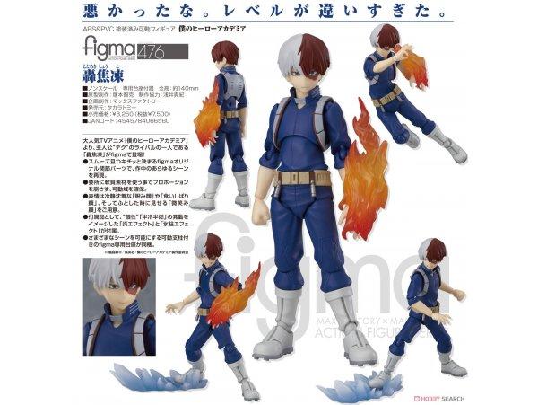 預訂 10月 TakaraTomy 476  我的英雄學院  figma 轟焦凍 PVC Figure