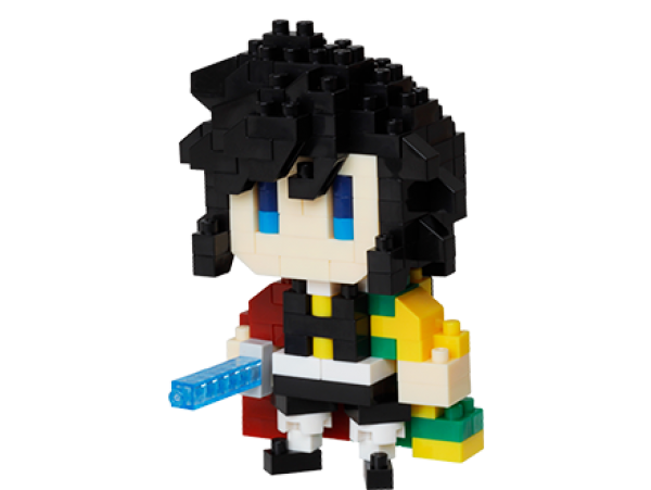 預訂 10月 日版 Aniplex nanoblock Demon Slayer 鬼滅之刃 Giyu Tomioka 富岡義勇