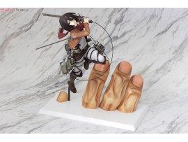 預訂 10月 日版 PULCHRA Attack on Titan 進擊的巨人 Mikasa Ackerman 米卡沙 1/7 PVC Figure Pre-order