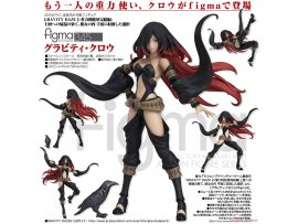 日版 Max Factory figma 345 Gravity Rush 2 重力的眩暈完結編 Gravity Raven 重力姬拉文