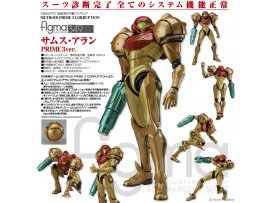 日版 Good Smile figma 349 Metroid Prime 3 Corruption Samus Aran 薩姆斯·阿蘭 PRIME 3 ver