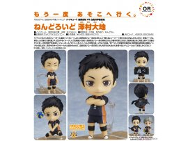 日版 Good Smile Nendoroid 772 Haikyuu!! 排球少年 Season 3 Daichi Sawamura 澤村大地