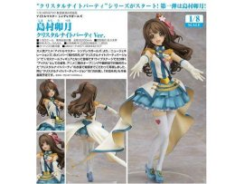 GoodSMILE THE IDOL MASTER 偶像大師 灰姑娘女孩 島村 卯月 Crystal Night Party Figure