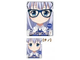 Dragon Horse請問您今天要來點兔子嗎?智乃  [Is the Order a Rabbit??] Acrylic Glasses Stand Chino (Anime Toy)