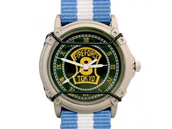 Animaru アニまるっ!限定  炎炎ノ消防隊 炎炎消防隊 クラフト腕時計 手錶 第8特殊消防隊仕様