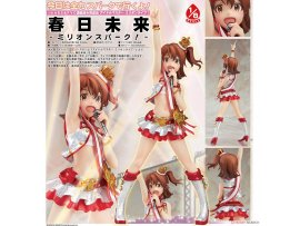 Aquamarine THE IDOLM@STER Million Live 春日未来 Mirai Kasuga Million Spark 1/8 PVC Figure