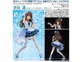 日版 Aquamarine THE IDOLM@STER Cinderella Girls 灰姑娘大師 Rin Shibuya 澀谷凜 Starry Sky Bright 1/8 PVC Figure Pre-order