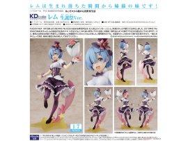 預訂 11月 Kadokawa  Re:從零開始的異世界生活 雷姆 生誕祭Ver. PVC FIGURE