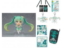 日版 GOOD SMILE NENDOROID 777 RACING MIKU 賽車初音 2017 VER