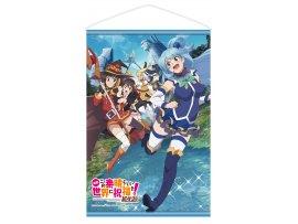 預訂 12月 日版 Chara-Ani Kono Subarashii Sekai ni Shukufuku wo! 為美好的世界獻上祝福! Kurenai Densetsu 紅伝説 B2 Tapestry