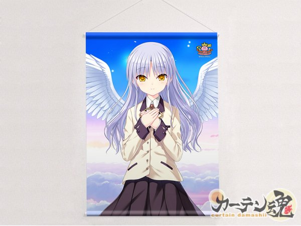 "Curtain Tamashii Key 20th B2 Tapestry ""Angel Beats!"" Kanade 立華奏 Key 20th"