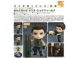 Good Smile Nendoroid 土人 681 Biohazard 生化危機 Chris 克里斯 Redfield