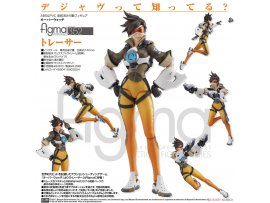 日版 Good Smile figma 352 Overwatch 鬥陣特攻 Tracer 閃光