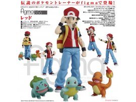 日版 Good Smile figma 356 Pokemon 寵物小精靈 Red 紅