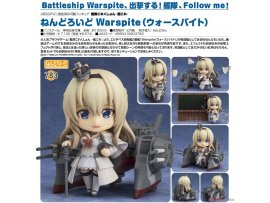 日版 Good Smile Nendoroid 783 Kantai Collection 艦娘 Kan Colle Warspite Pre-order