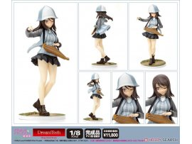 日版 WAVE DreamTech Girls und Panzer 少女與戰車 the Movie Mika Panzer 米卡 Jacket Ver 1/8 PVC Figure Pre-order