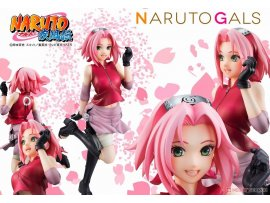 日版 MegaHouse NARUTO Gals NARUTO 火影忍者 Shippuden Sakura Haruno 春野櫻 PVC Figure