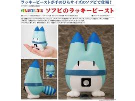 預訂 12月 日版 Aquamarine Kemono Friends 動物朋友 Soft Vinyl Lucky Beast 幸運獸軟膠模型  PVC Figure Pre-order